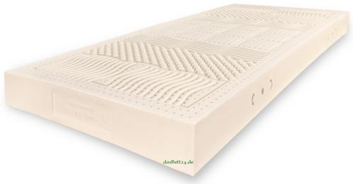 dasbett24 naturlatexmatratze ergozone 7 zonenmatratze mit schulter und h ftabsenkung. Black Bedroom Furniture Sets. Home Design Ideas