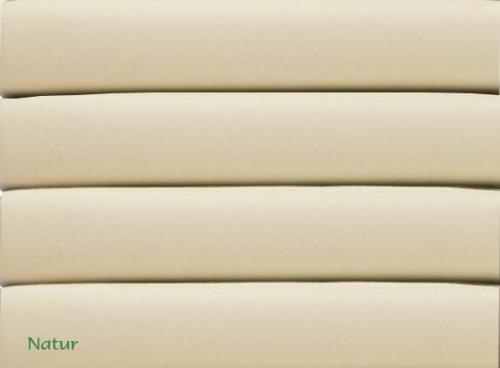 dasbett24 cotonea spannbetttuch spannbettt cher jersey natur. Black Bedroom Furniture Sets. Home Design Ideas