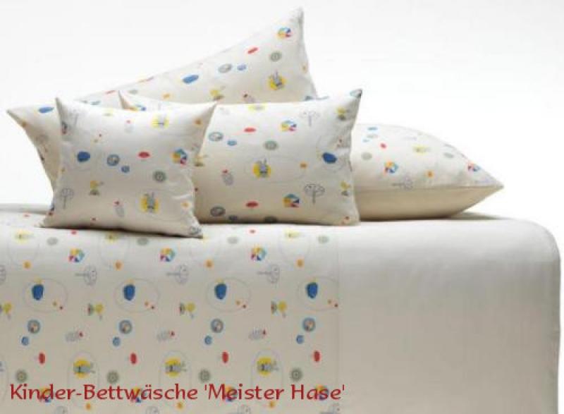 9732379fdd dasBett24 - Kinderbettwäsche mit Meister Hase